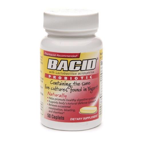 BACID PROBIOTIC CAPLETS 50/BT