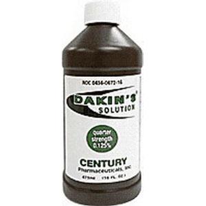 DAKIN'S SOLUTION .125% 16 OZ