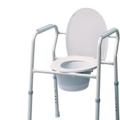 COMMODE 3 IN 1 STEEL