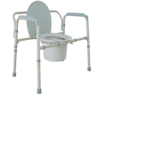 COMMODE STEEL ALL IN ONE