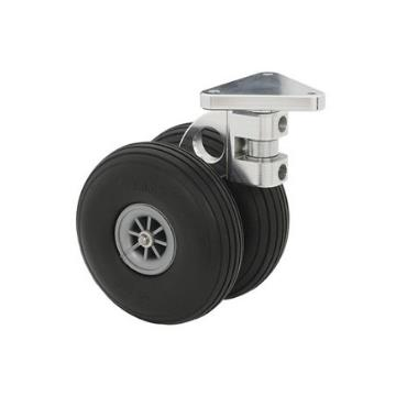 """CASTER FRONT DUAL SWIVEL 3"""""""