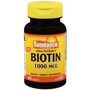 BIOTIN TABS 1000MCG 120\BT
