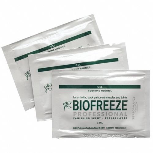 BIOFREEZE 3ML PACKETS 100/BX