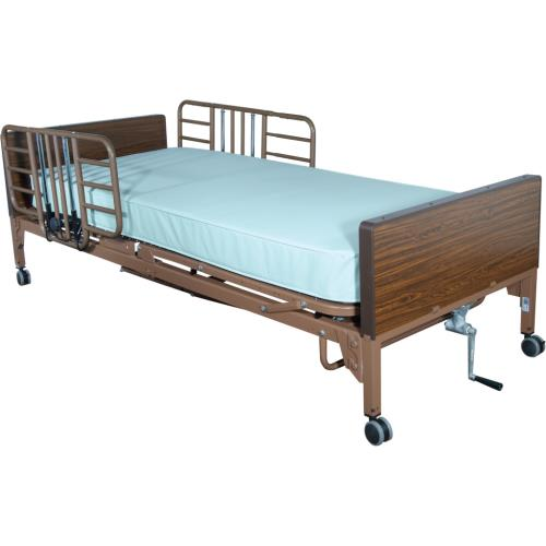 BED RAILS HALF LNGTH TOOL FREE