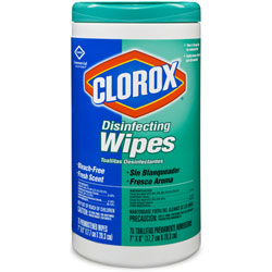 CLOROX DISINFECTING WIPES 75/T
