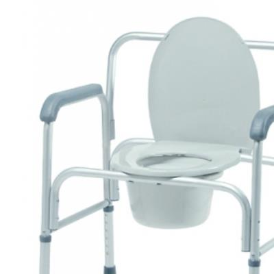 COMMODE BARIATRIC 3 IN 1 2/CS