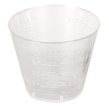 CUPS MED 1 OZ GRAD 5000/CS