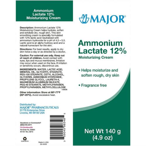 AMONIUM LACTAID CREAM 12% 140G