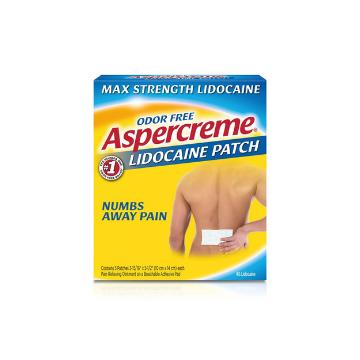 ASPERCREME LIDOCAINE PATCH 5/B
