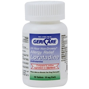 CLARITIN (LORATADINE)10MG 90/B