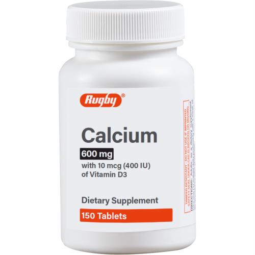 CALCIUM 600MG W/D 400IU 150/BT