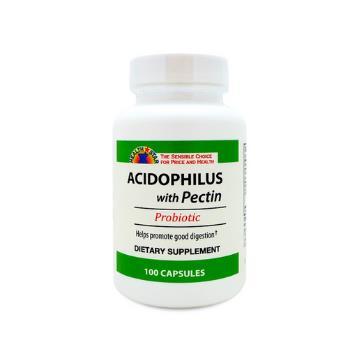 ACIDOPHILUS/PECTIN CAPS 100/BT