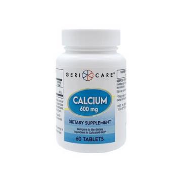 CALCIUM CARBONATE 600MG 60/BT