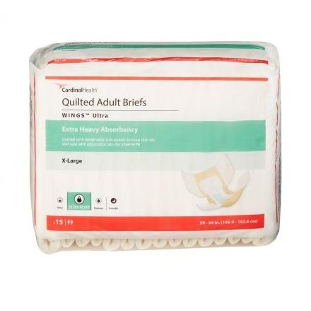 BRIEFS QUILTED ULTRA XLG 60/CS