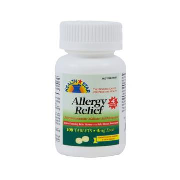 ALLERGY RELIEF 4MG 100/BT