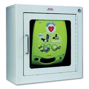 """AED ZOLL CABINET W/ALARM 7"""""""