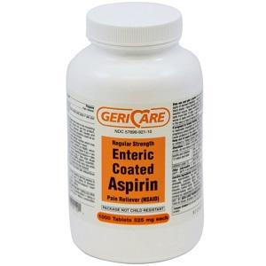 ASPIRIN COATED 325MG 1000/BT