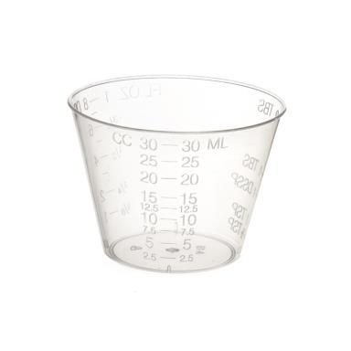 CUPS MED 1OZ OPAQUE GRAD 5000/