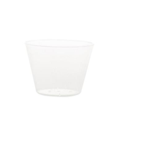 CUP PLASTIC TRANS GRAD 1OZ